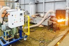 Refractories Services rampa bruciatore preriscaldo
